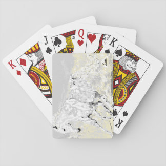 Playing Cards /White Stallion in Motion