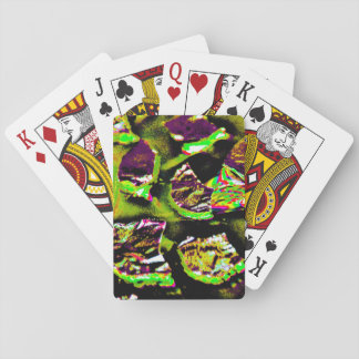 Playing Cards with Abstract Design on Back