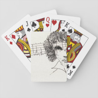 Playing cards with Beethoven