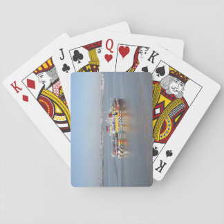 Playing Cards With Colourful Boat (Mersey Ferry)