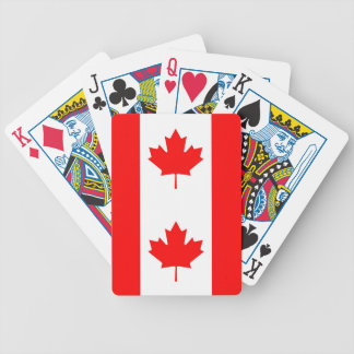 Playing Cards with Flag of Canada