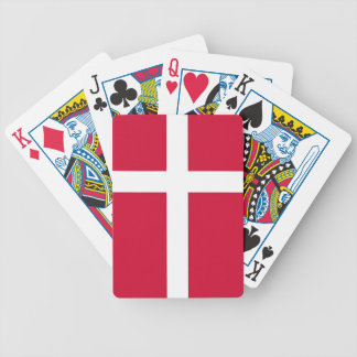 Playing Cards with Flag of Denmark