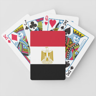 Playing Cards with Flag of Egypt