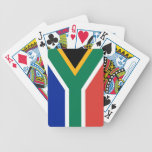 Playing Cards with Flag of South Africa