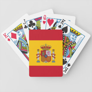 Playing Cards with Flag of Spain