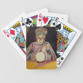 Playing Cards with fortune teller image