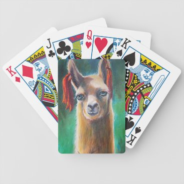 Playing cards with LLama