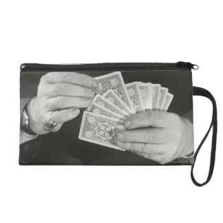 Playing Cards Wristlet Purse