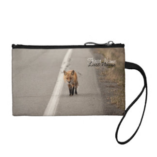 Playing Chicken with a Fox; Customizable Change Purse