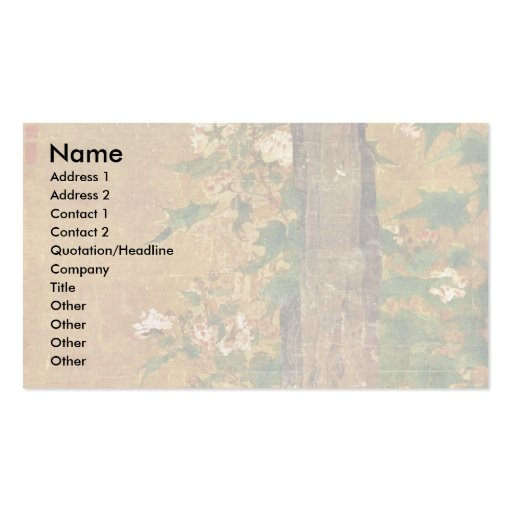 Playing Children By Su Han Ch'En (Best Quality) Double-Sided Standard Business Cards (Pack Of 100)