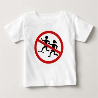 Playing Children Not Allowed, Traffic Sign, Spain Infant T-shirt
