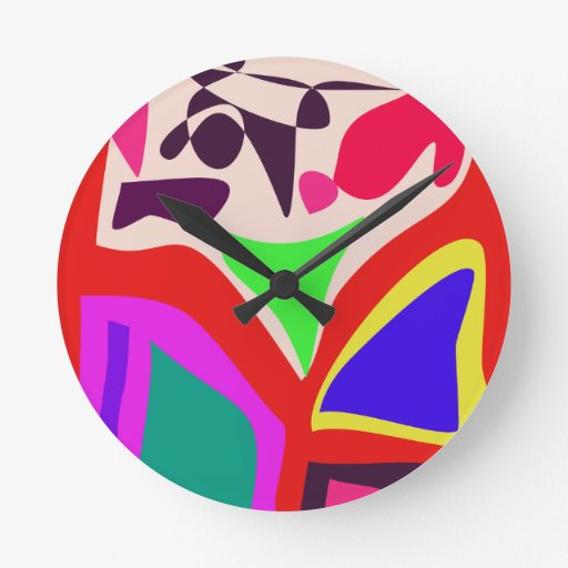 Playing Children Wall Clock