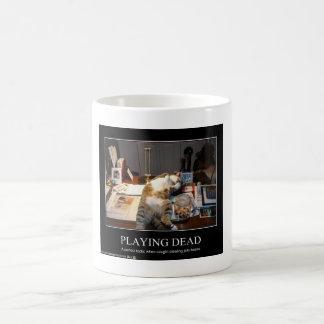 Playing Dead Mug