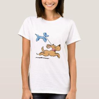 Playing Dog T-Shirt