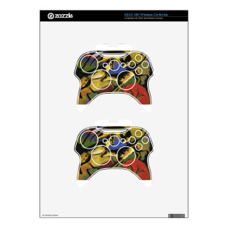 Playing Dogs by Franz Marc Xbox 360 Controller Skin