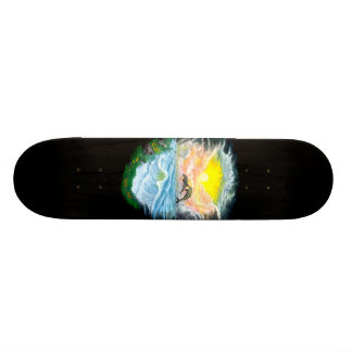 Playing Dolphins in the Sunshine Custom Skate Board