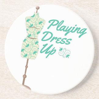 Playing Dress Up Coaster