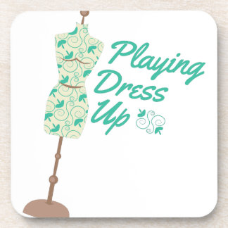 Playing Dress Up Coasters