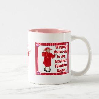Playing Dress-up Mug