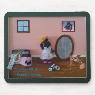 Playing Dress Up Scottish Terrier Mousepad