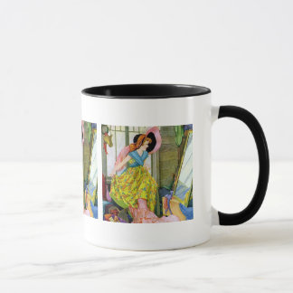 Playing Dressup in the Attic Mug