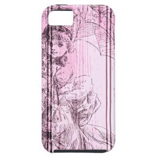 Playing Dressup iPhone SE/5/5s Case