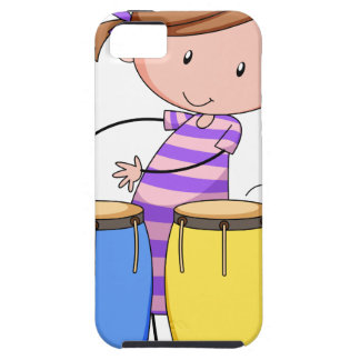 Playing drums iPhone 5 cases