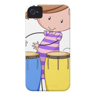Playing drums iPhone 4 cover