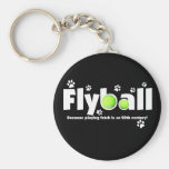 Playing Fetch is 20th Century Flyball Keychain