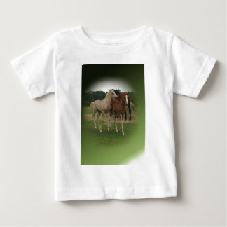 Playing Foals Crosstitched Baby T-Shirt