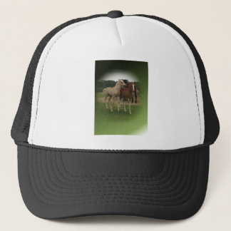 Playing Foals Crosstitched Trucker Hat