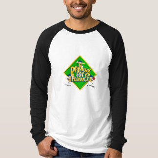 Playing for Peanuts 3/4 Sleeve T-Shirt