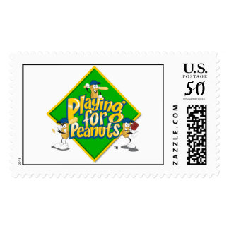 Playing for Peanuts - Postage Stamps