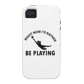 Playing goalkeep iPhone 4/4S case