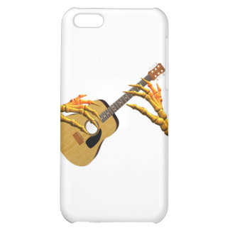 Playing guitar down to the bone by Valxart iPhone 5C Cases