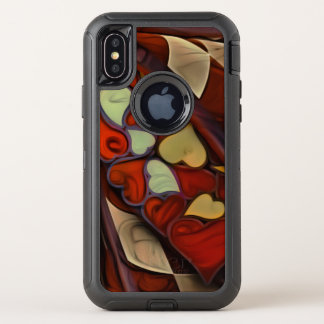 Playing Hide n Seek with the Queen of Hearts OtterBox Defender iPhone X Case