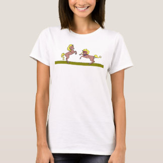 Playing Horses T-Shirt