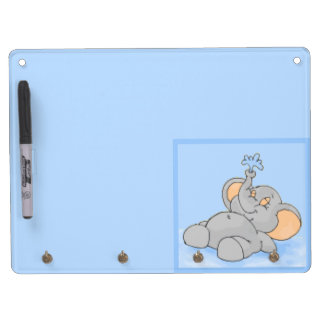 Playing in the Water Dry Erase Board With Keychain Holder