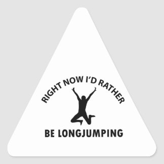 Playing  jumping triangle sticker