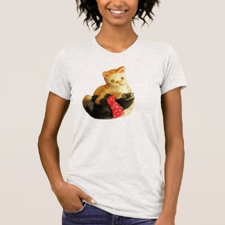 Playing  Kittens figure Shirts
