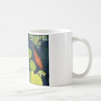 Playing Koi Coffee Mugs