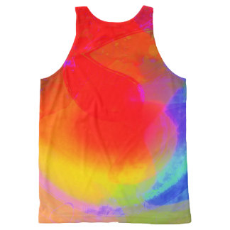 Playing larks Unisex Tank All-Over Print Tank Top