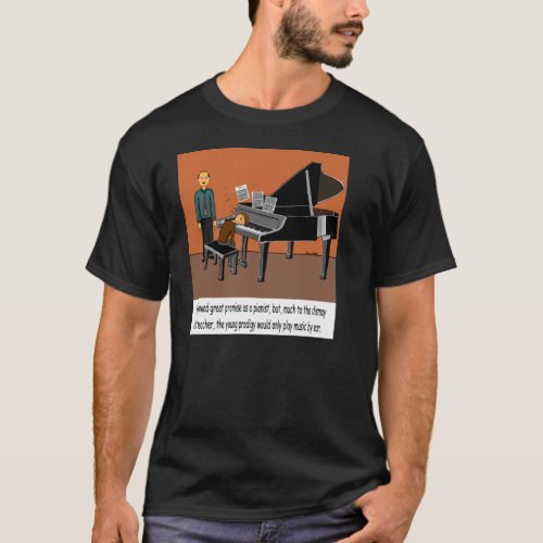 Playing Music By Ear T_Shirt