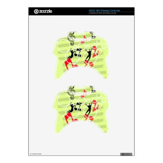 Playing music xbox 360 controller decal