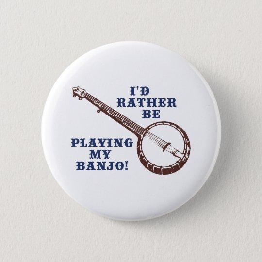 Playing My Banjo Button