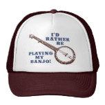 Playing My Banjo Trucker Hat