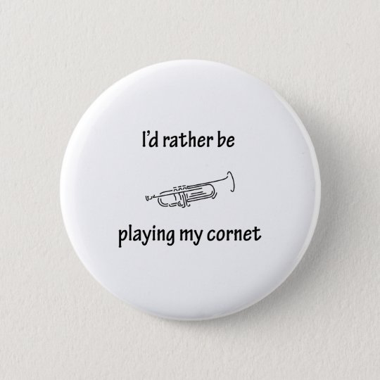 Playing My Cornet Button