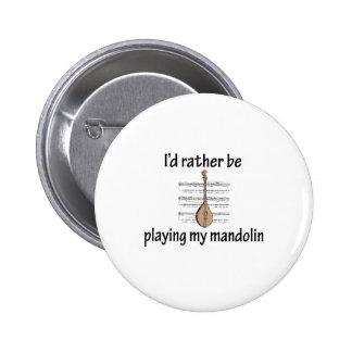 Playing My Mandolin Pins
