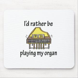 Playing My Organ Mouse Mats