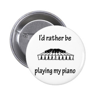 Playing My Piano 2 Inch Round Button